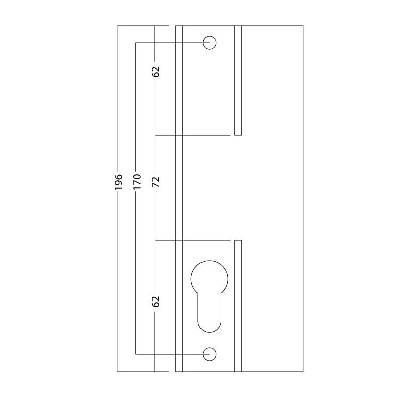 Sliding uPVC Patio Door Handle 6