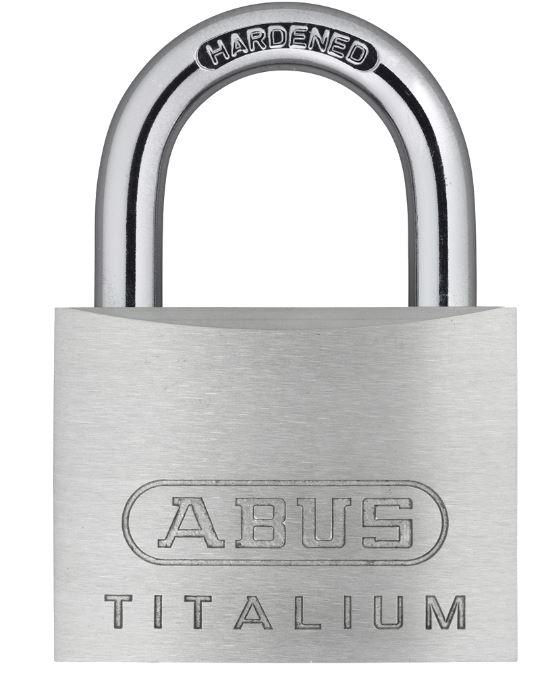 ABUS Titalium 54TI Series Open Shackle Padlock 50mm