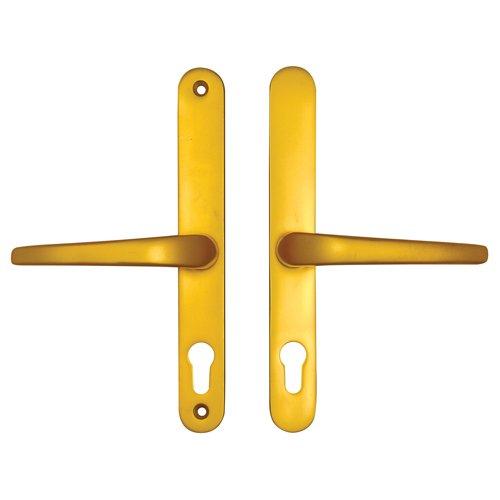uPVC Door Handle No. 22 (Cego Surelock) - Gold
