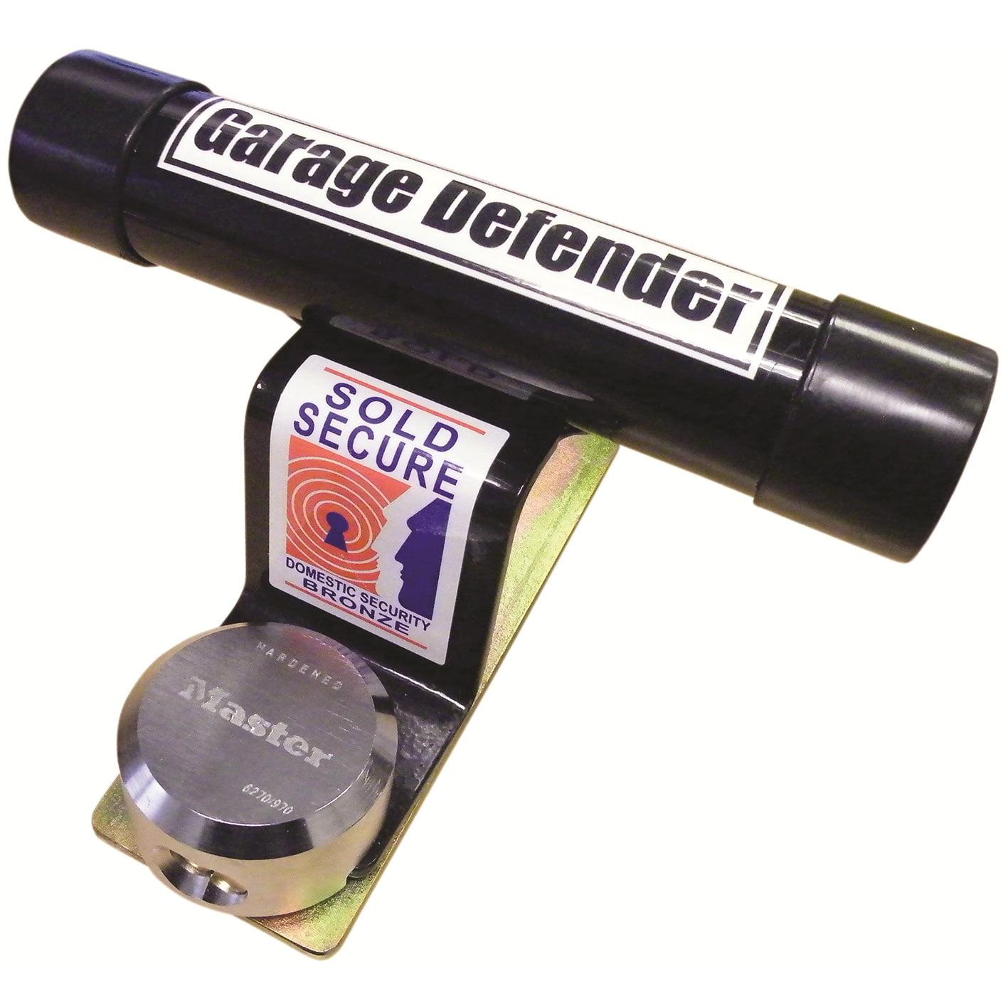 Garage Door Defender With Padlock