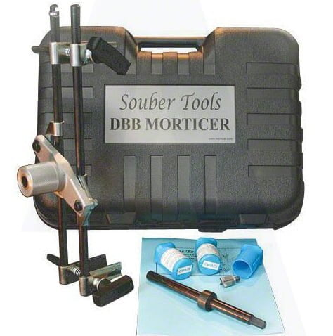 New Style Morticer Jig c/w 3 Cutters (Souber Tools)