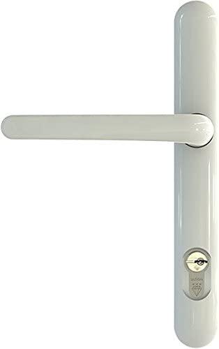 Brisant Lock Lock Handle White 211mm Centres