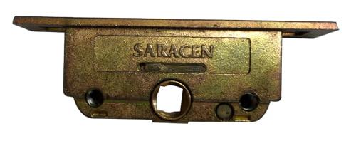 Saracen Window Gearbox with 11mm Deadbolt - Push in Rods