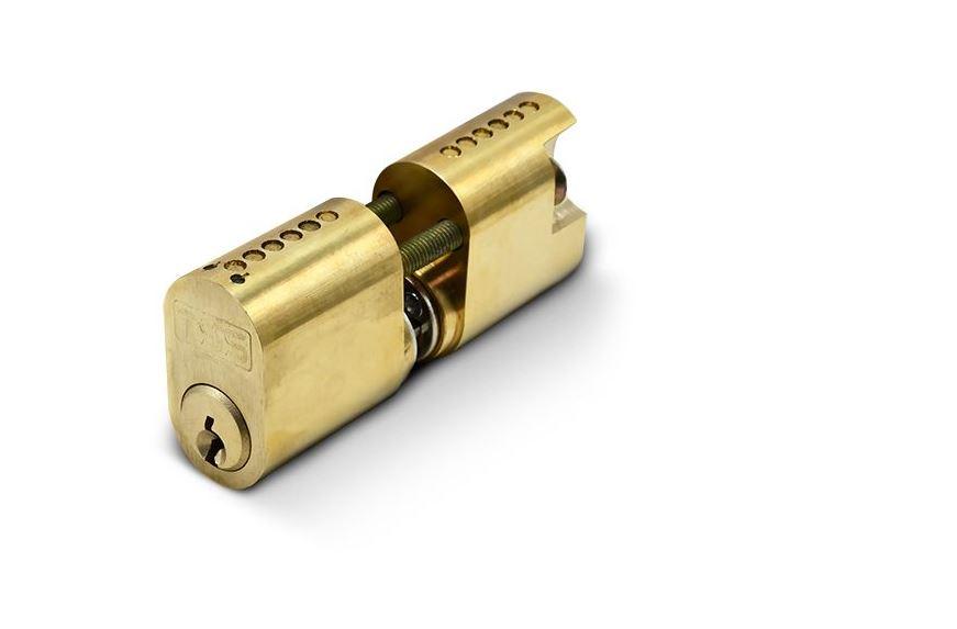 TSS Swedish (Scandinavian) Internal And External Oval Cylinder (Brass)
