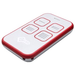 SILCA AIR 4 REMOTE 433 FIXED FREQUENCY, WHITE/RED