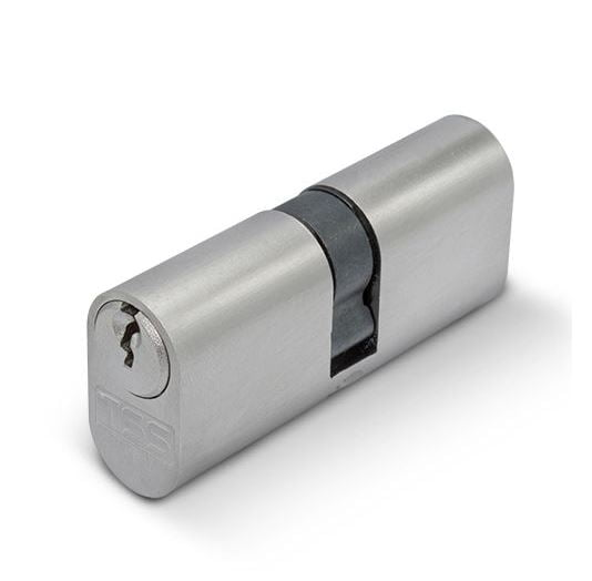 TSS Oval Double Cylinder 30/30 (Nickel)