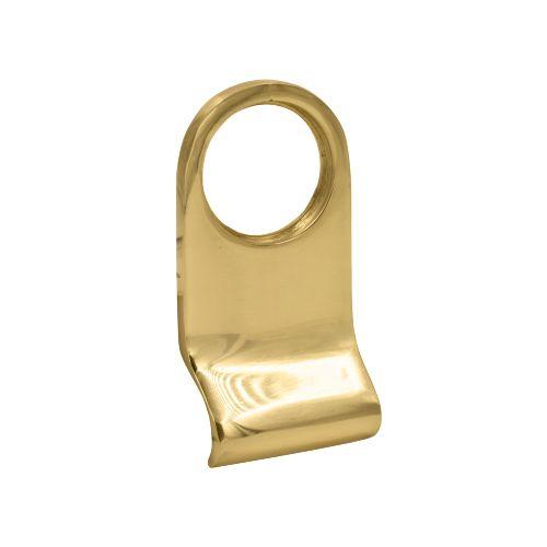 TSS Victorian Rim Cylinder Pull Brass