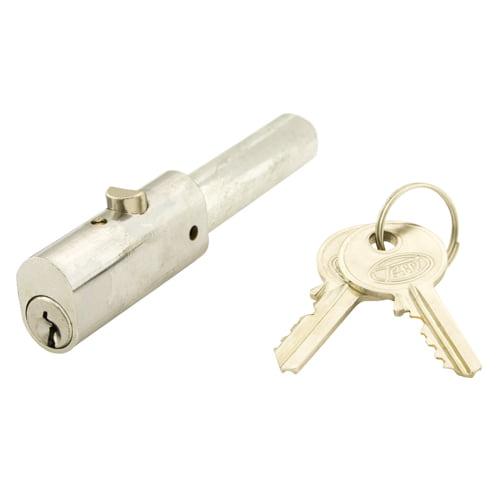 TSS Roller Shutter Oval Bullet Lock Polished Chrome