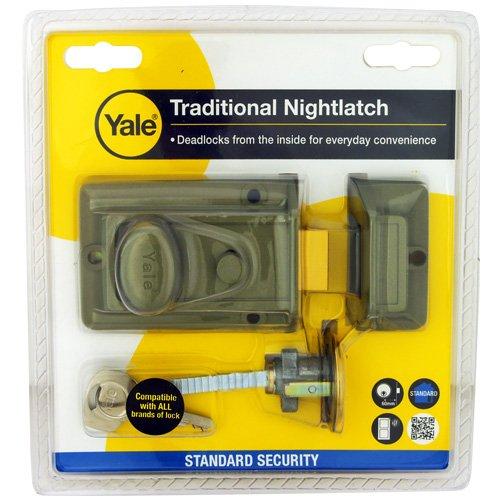 Yale 77 Traditional Nightlatch (60mm Backset)