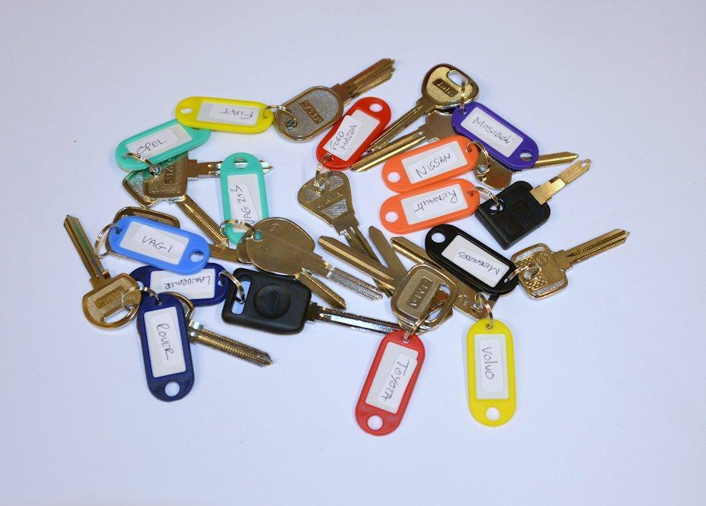 Set Of 12 Overlifting Keys