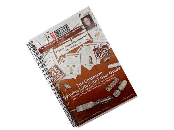Complete Genuine Lishi 2 in 1 Manual