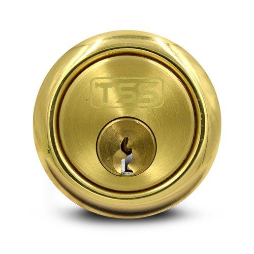 TSS Rim Cylinder Brass
