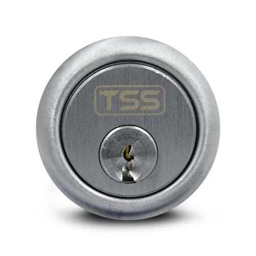 TSS Rim Cylinder Nickel