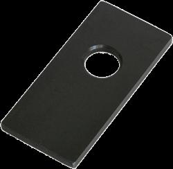 Lock Puller Base Plate (Oval Profile)