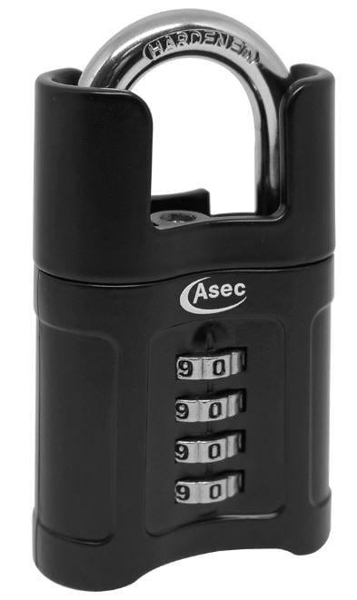 ASEC Closed Shackle Combination Padlock 55mm