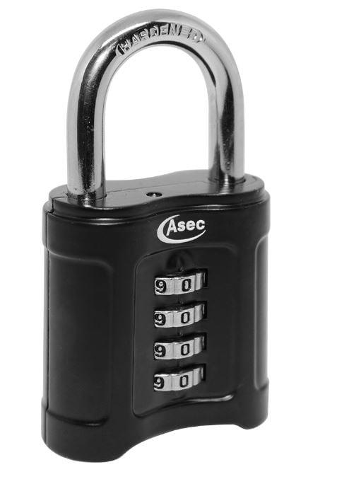 ASEC Open Shackle Combination Padlock 55mm