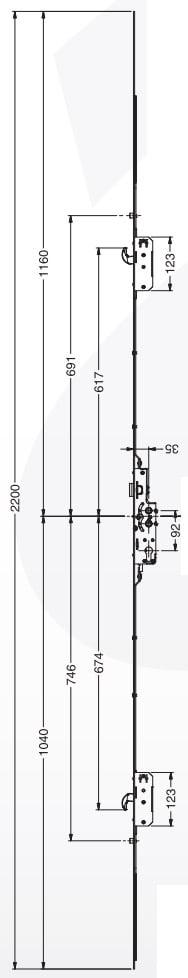 Avocet Full Length Keep (2 Hook 2 Roller)