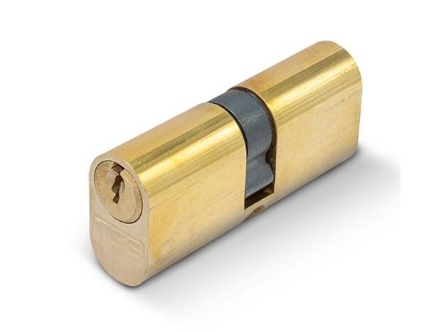 TSS Oval Double Cylinder 35/35 (Brass)