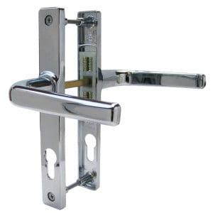 uPVC Door Handle No. 3 (Sprung)