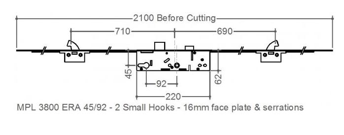 ERA / Saracen 2 Small Hook