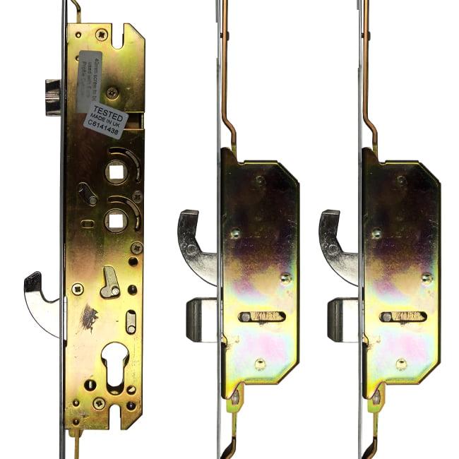 Millenco 3 Hook 2 Deadbolt 35x117
