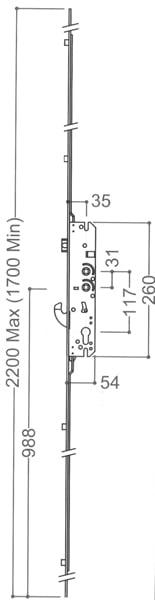 Millenco 4 Roller 35x117